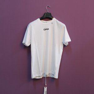 Off-White Caravaggio Printed White T-Shirt